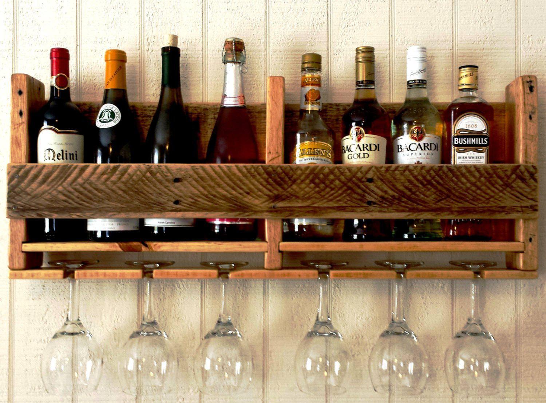 DIY Wine Glass Rack Under Cabinet  DIY Wine Glass Rack Hanging Type — Step Into The Dark