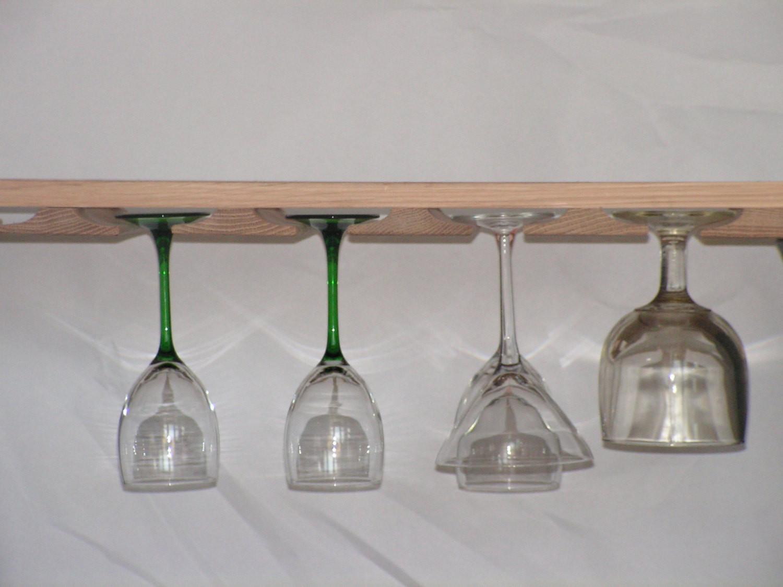 DIY Wine Glass Rack Under Cabinet  Wine Glass Rack Stemware Holder for Under Cabinet You