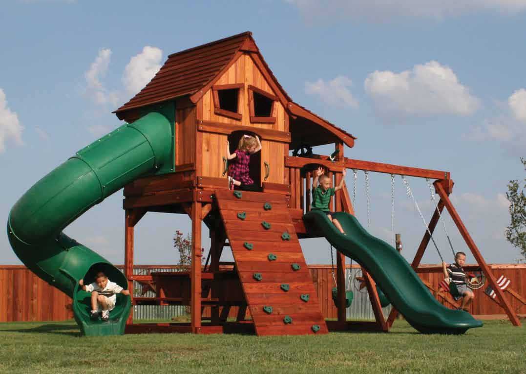 Do It Yourself Backyard Playsets  Outdoor Wooden Playsets