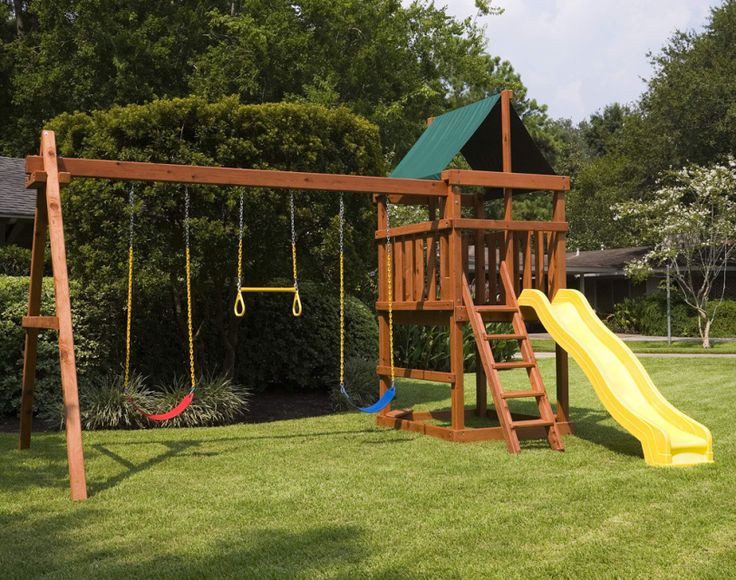 Do It Yourself Backyard Playsets  Learn how to build your own backyard wood playset with our