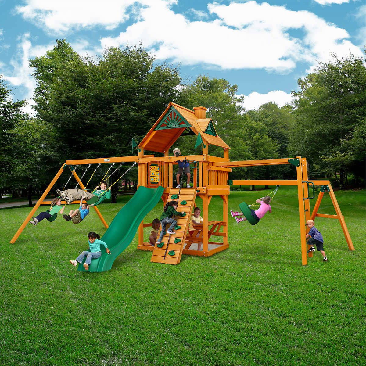 Do It Yourself Backyard Playsets  Pin by Leonie Contreras on Outdoor Play