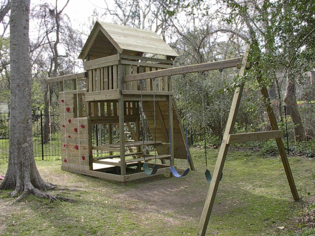 Do It Yourself Backyard Playsets  How to Build DIY Wood Fort and Swing Set Plans From Jack s