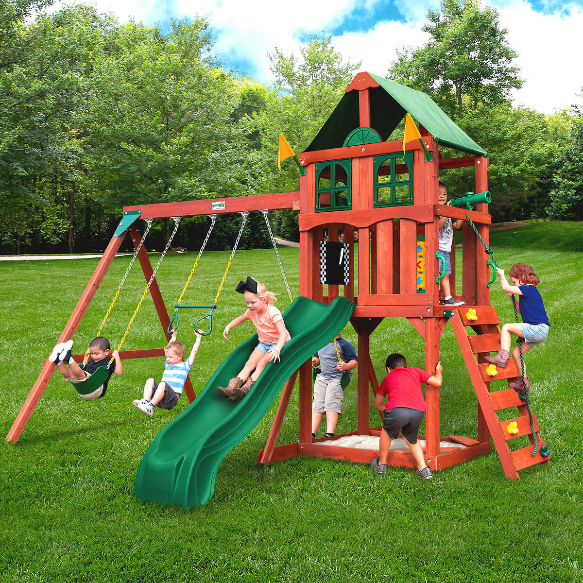 Do It Yourself Backyard Playsets  Backyard Play Sets