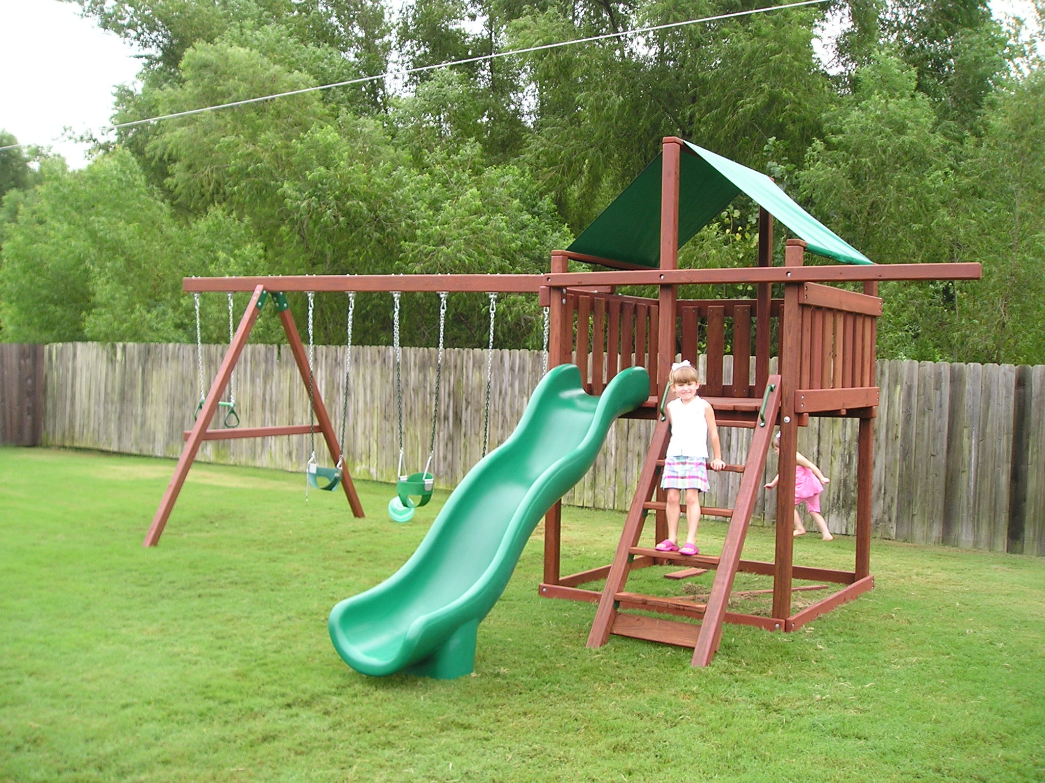 Do It Yourself Backyard Playsets  Weighing the options of a Do It Yourself Wood Swing Set