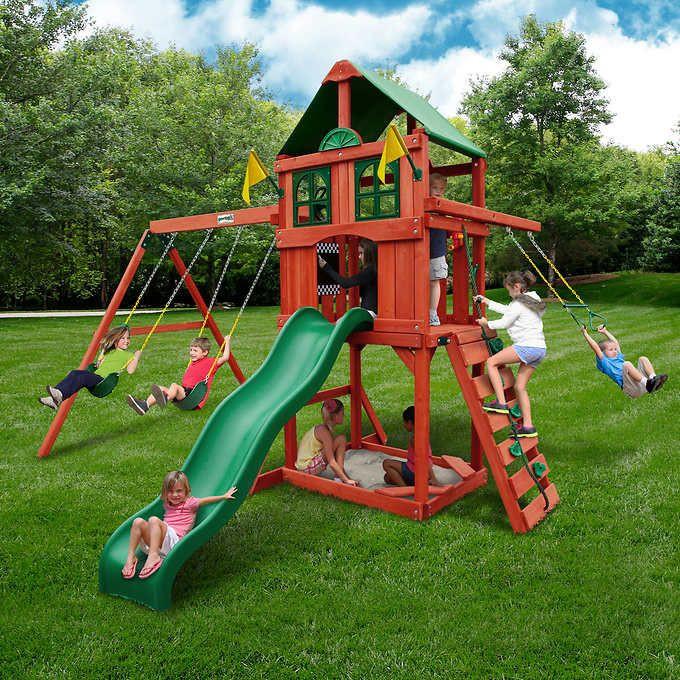 Do It Yourself Backyard Playsets  Gorilla Playsets PlayMaker Playset Do It Yourself With