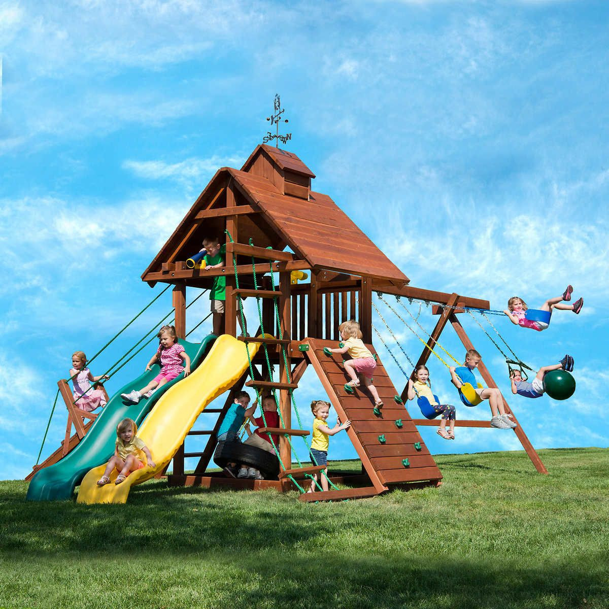 Do It Yourself Backyard Playsets  $2600 200 for installation optional costco Kids
