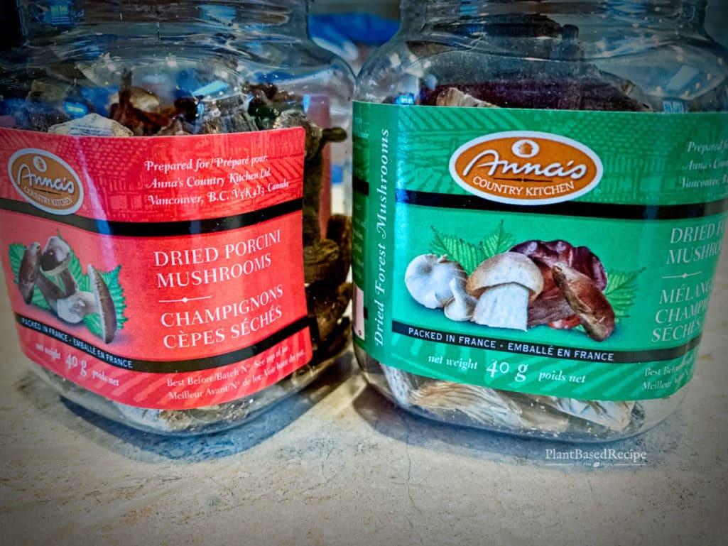 Dried Porcini Mushrooms Trader Joe'S  Umami Seasoning blend recipe Vegan SOS free option