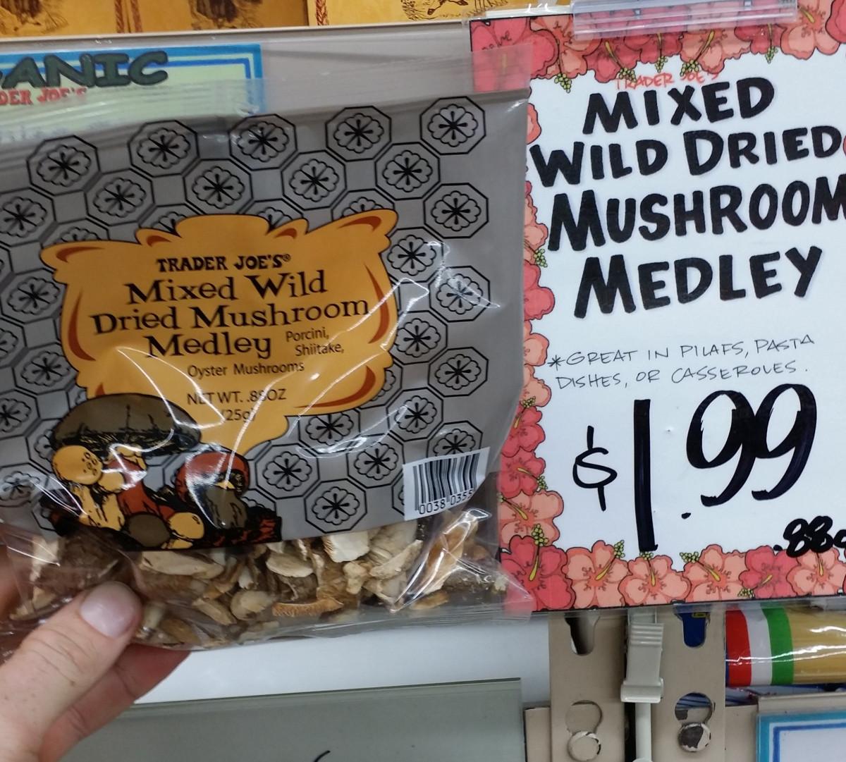 Dried Porcini Mushrooms Trader Joe'S  Trader Joe's Mixed Wild Dried Mushroom Medley