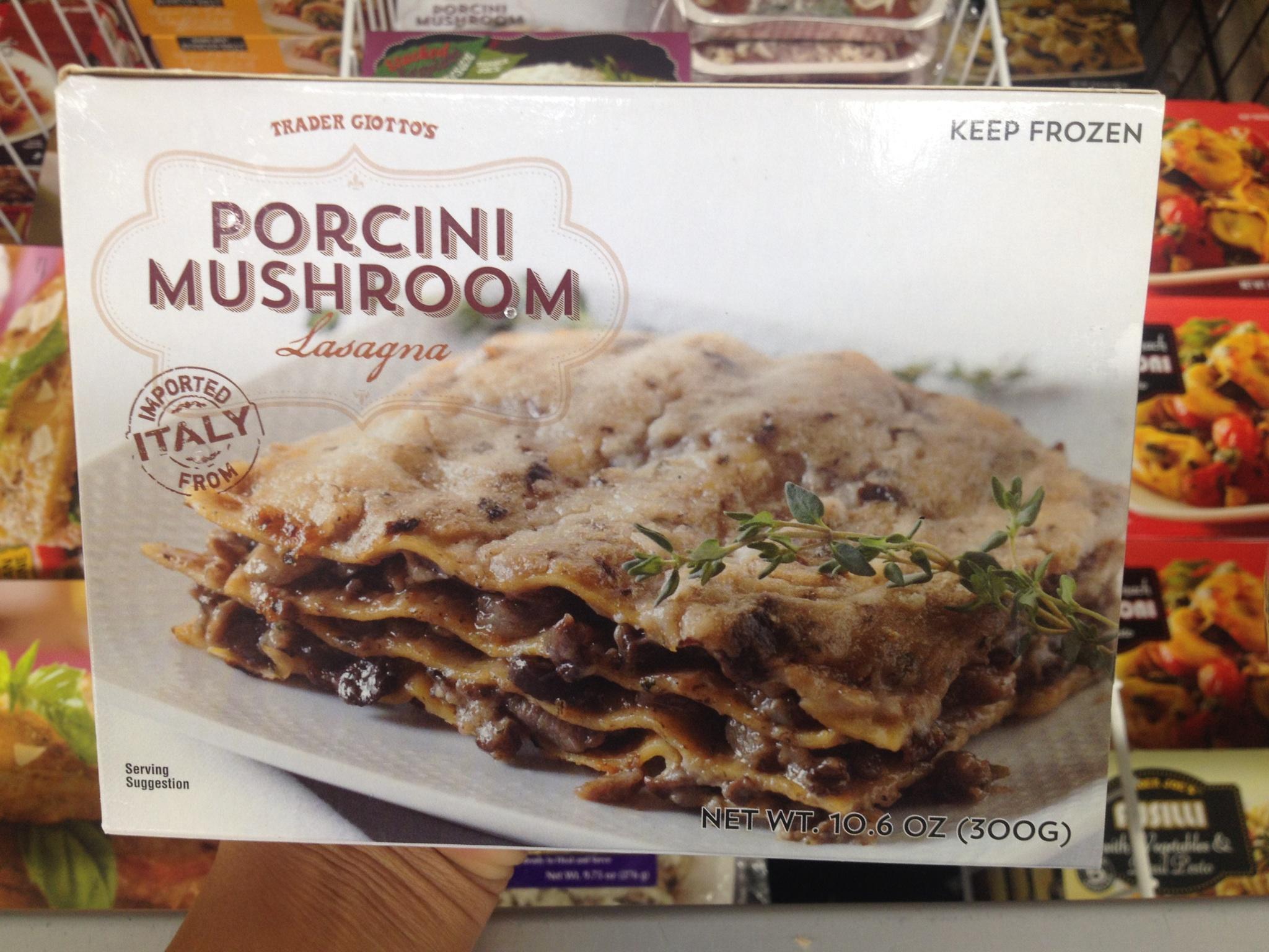 Dried Porcini Mushrooms Trader Joe'S  Trader Joe's Porcini Mushroom Lasagna – The Trader Joes