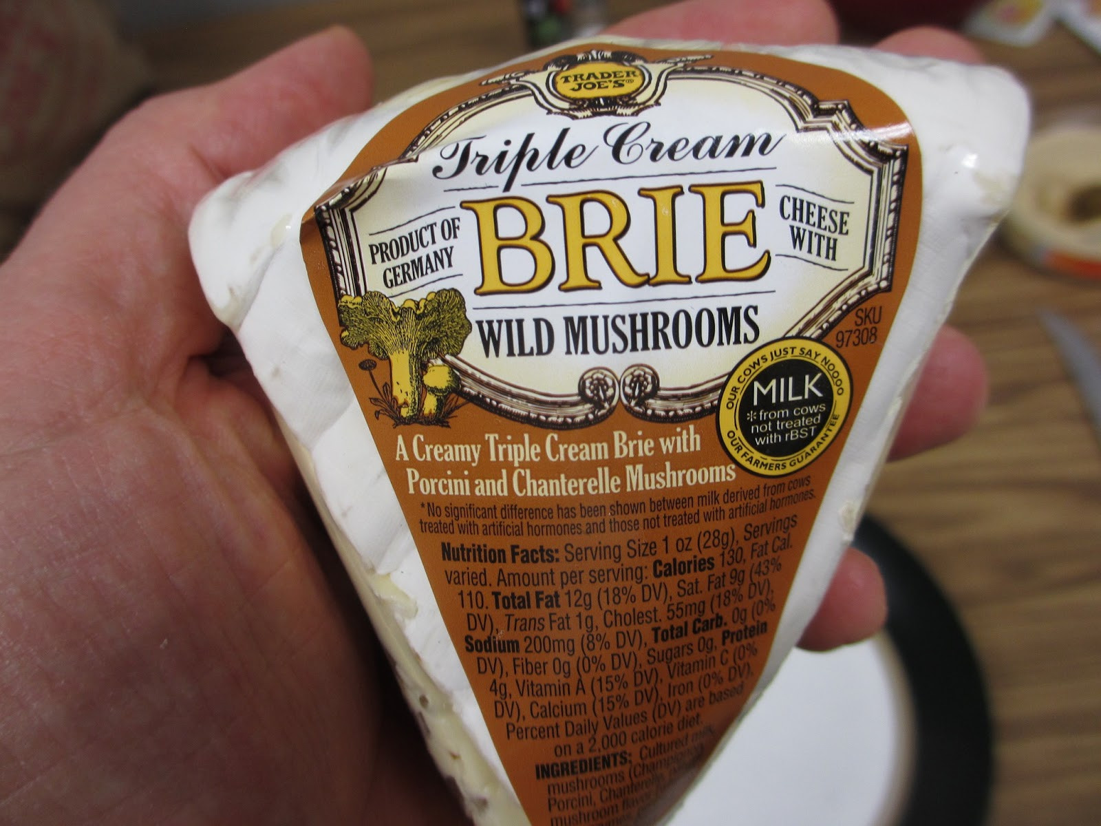 Dried Porcini Mushrooms Trader Joe'S  Cannundrums Cheese Brie