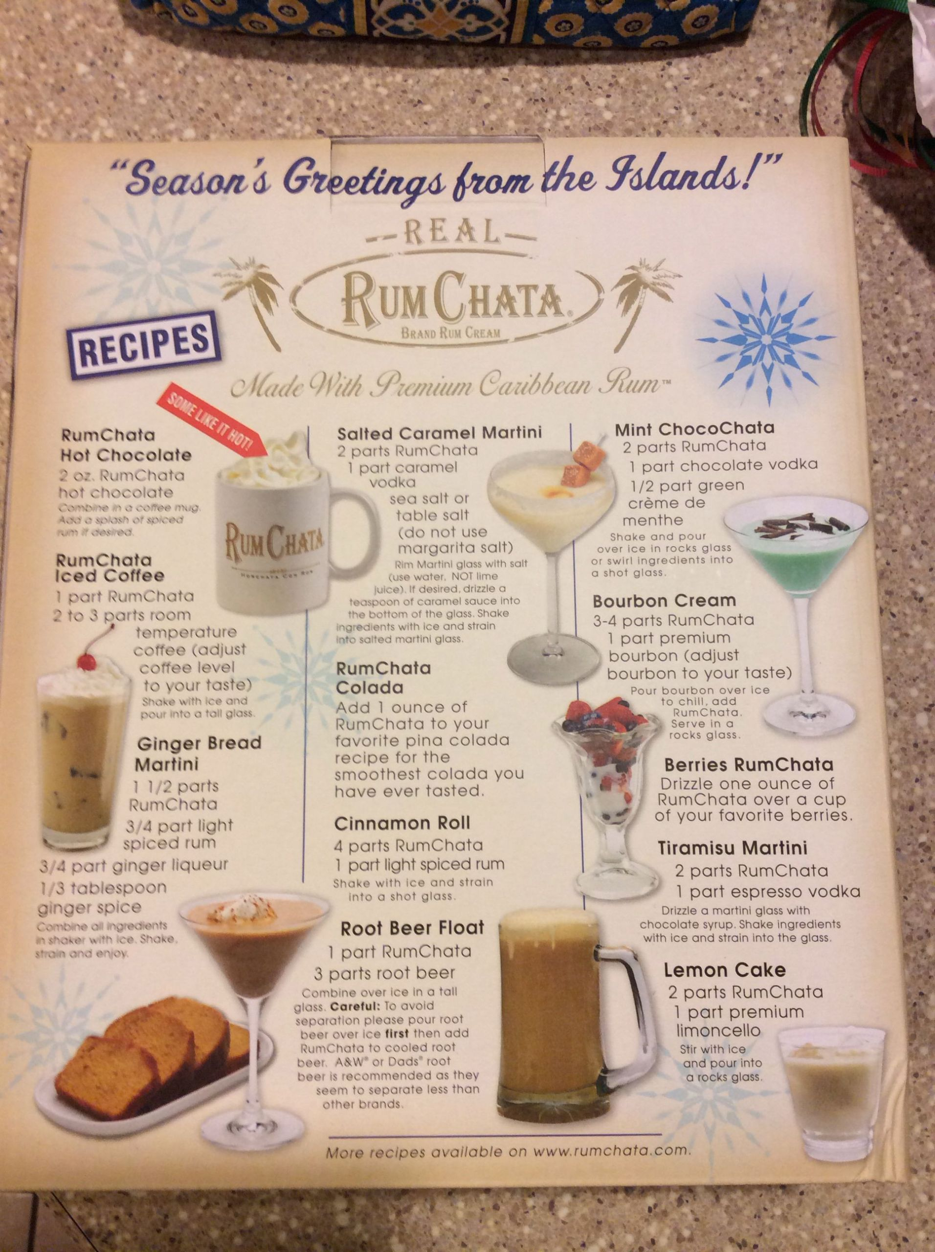 Drinks To Make With Rum Chata  Rum Chata recipes Drinks Pinterest
