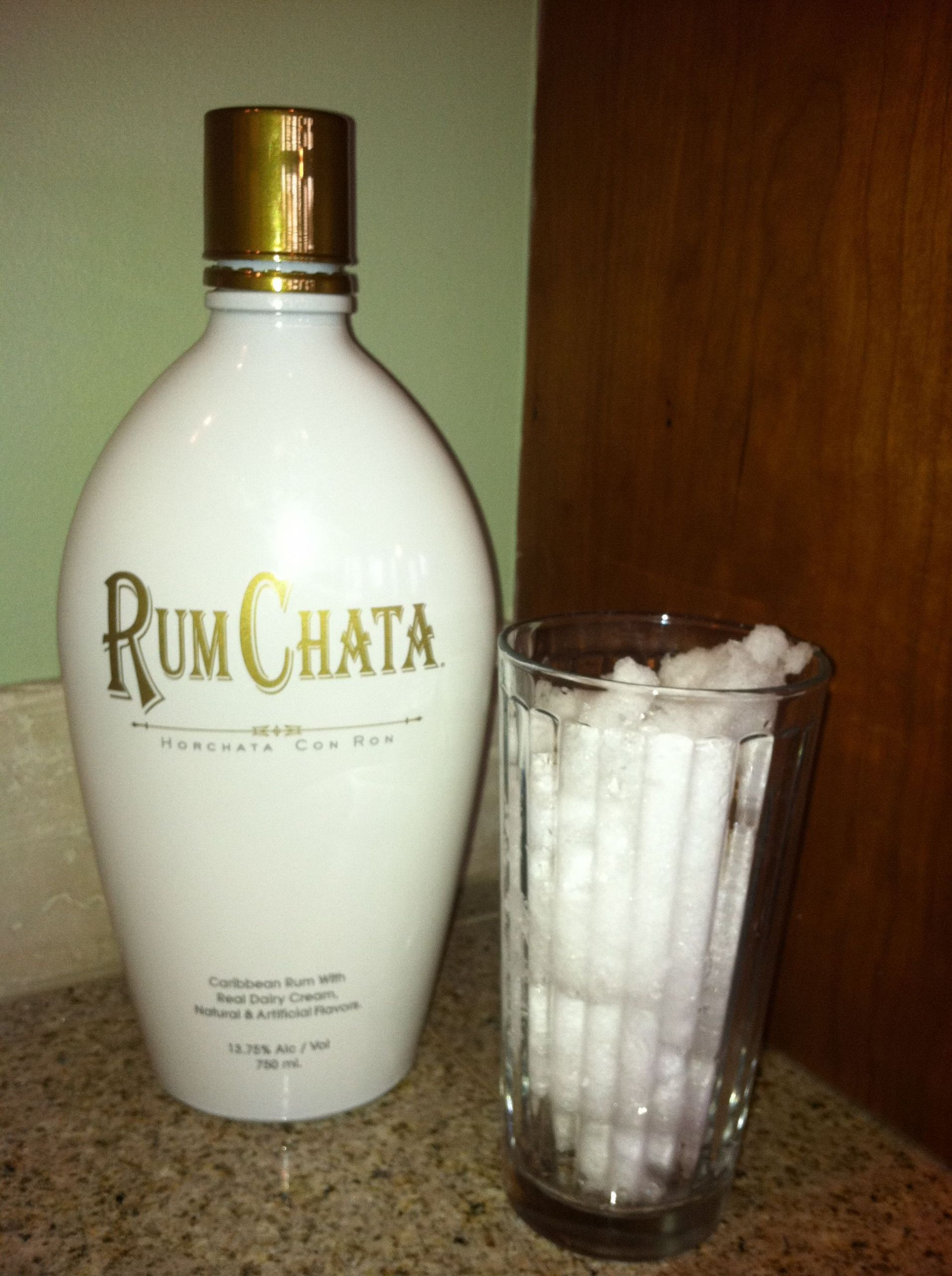 Drinks To Make With Rum Chata  Rum Chata Fresh Snow = Adult Homemade Ice Cream