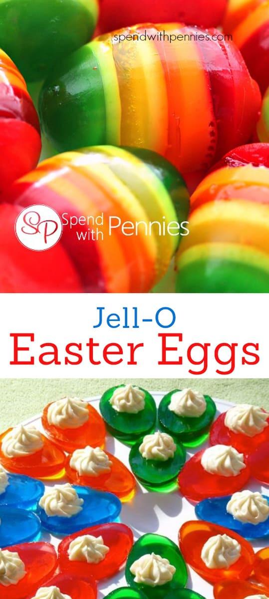 Easter Jello Desserts  Jello Easter Eggs Living Locurto