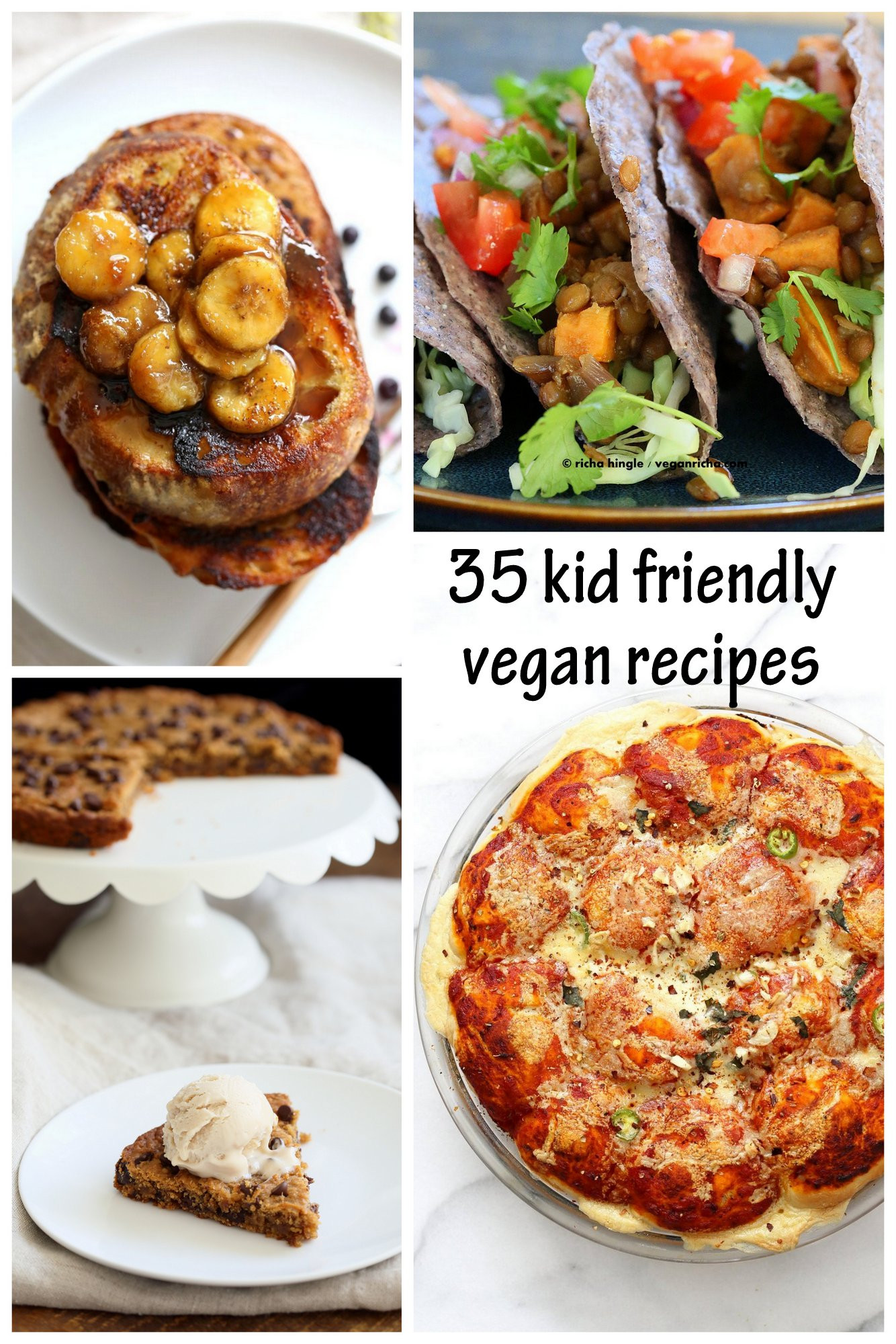 Easy Healthy Dinner Recipes Kid Friendly  35 Kid Friendly Vegan Recipes Vegan Richa