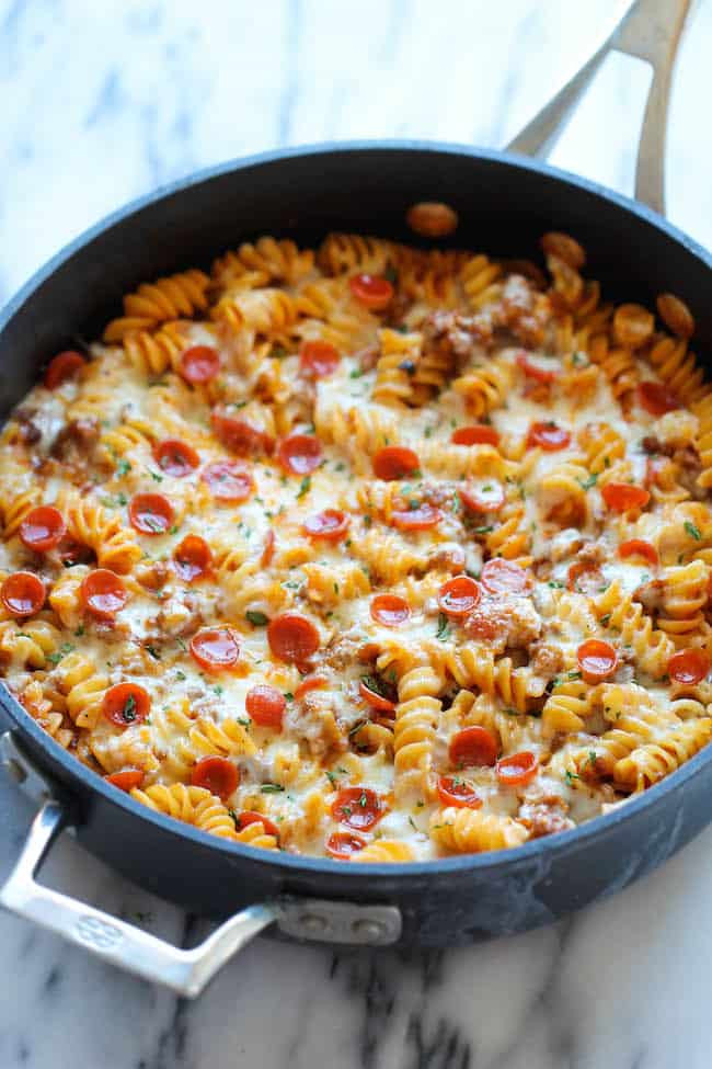 Easy Healthy Dinner Recipes Kid Friendly  12 QUICK AND TASTY KID FRIENDLY ONE POT MEALS
