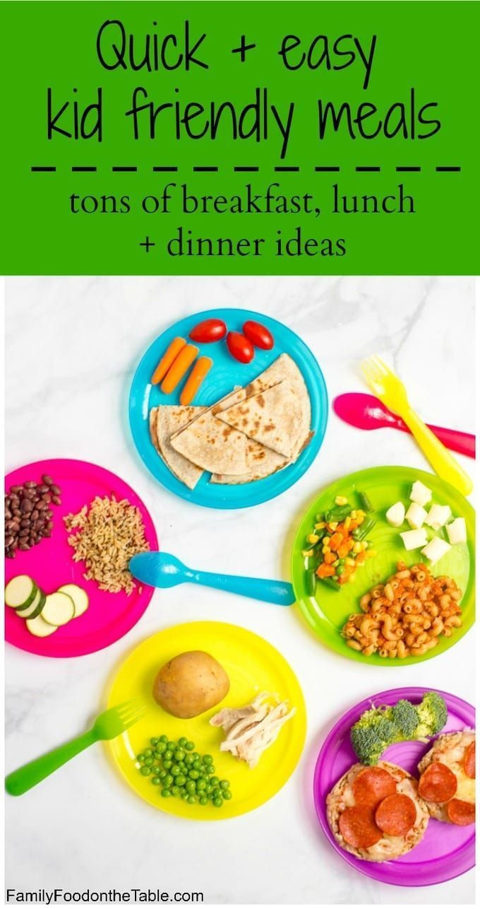 Easy Healthy Dinner Recipes Kid Friendly  Healthy quick kid friendly meals