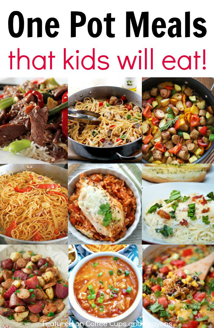 Easy Healthy Dinner Recipes Kid Friendly  Kid Friendly e Pot Meals