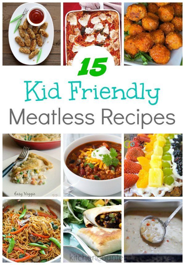 Easy Healthy Dinner Recipes Kid Friendly  20 Easy Kid Friendly Meatless Recipes for Families