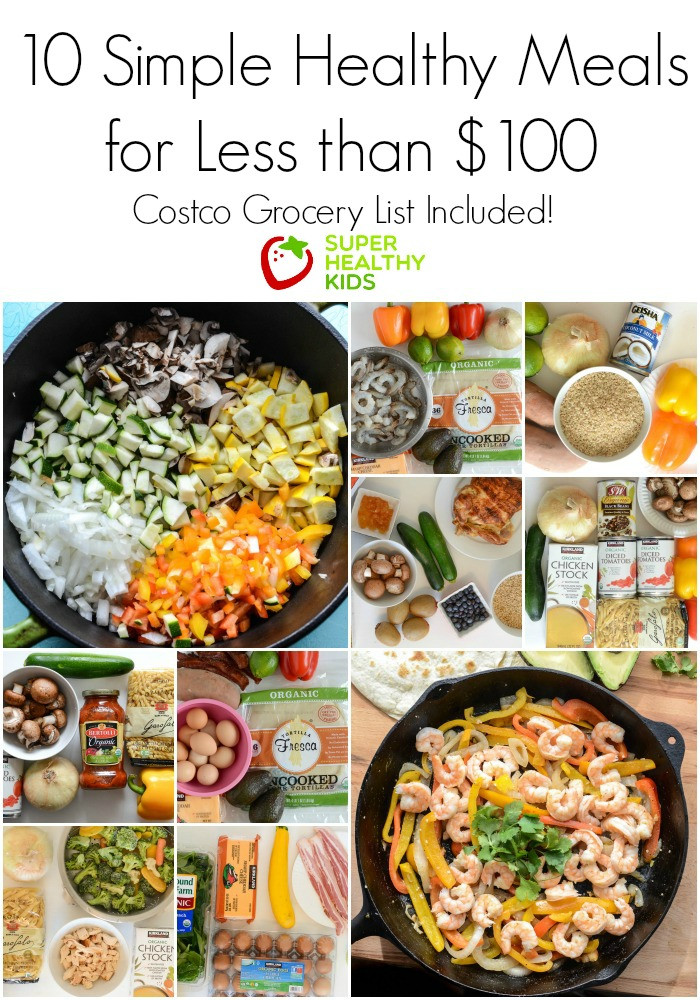 Easy Healthy Dinner Recipes Kid Friendly  10 Simple Healthy Kid Approved Meals from Costco for Less