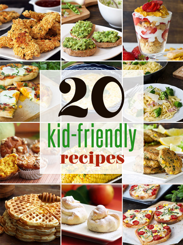 Easy Healthy Dinner Recipes Kid Friendly  20 Easy Kid Friendly Recipes Home Cooking Adventure