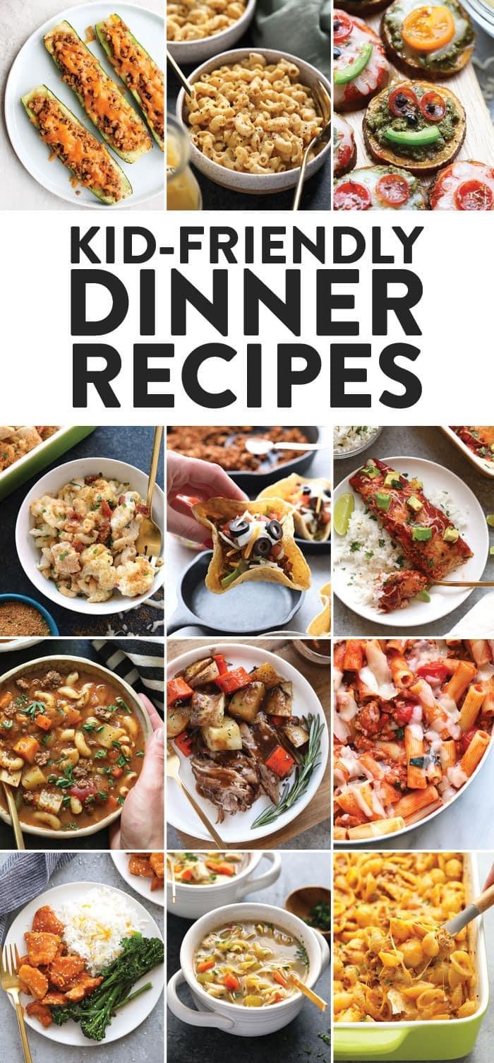 Easy Healthy Dinner Recipes Kid Friendly  Healthy Kid Friendly Dinner Recipes 30 Recipes Fit
