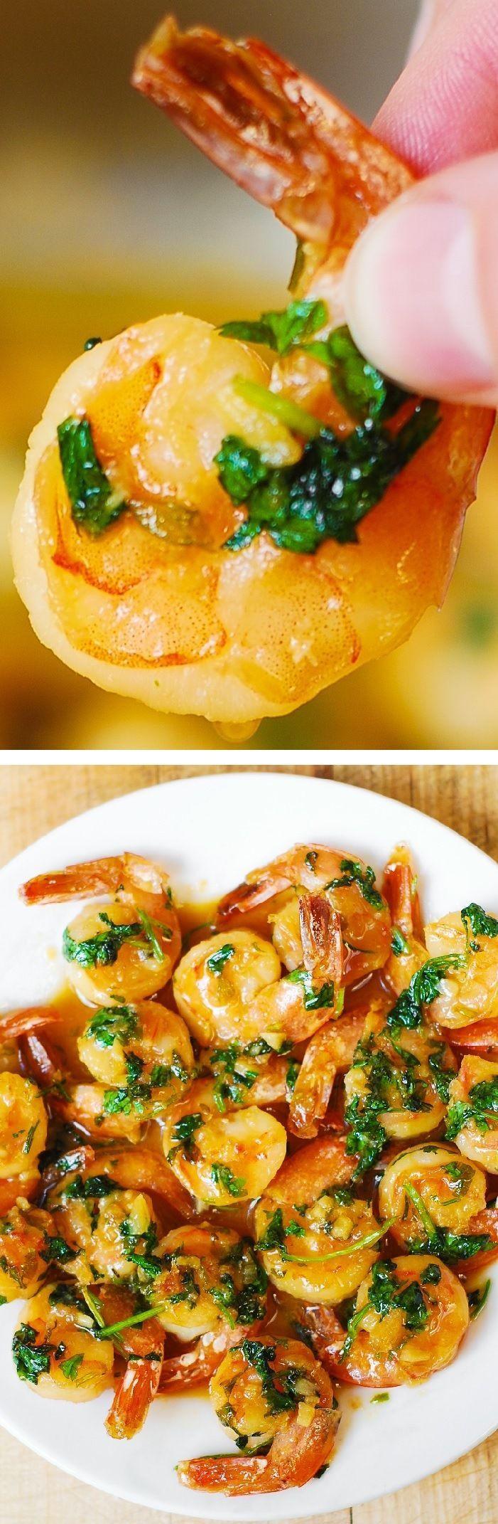 Easy Low Cholesterol Recipes  Cilantro Lime Honey Garlic Shrimp easy healthy gluten