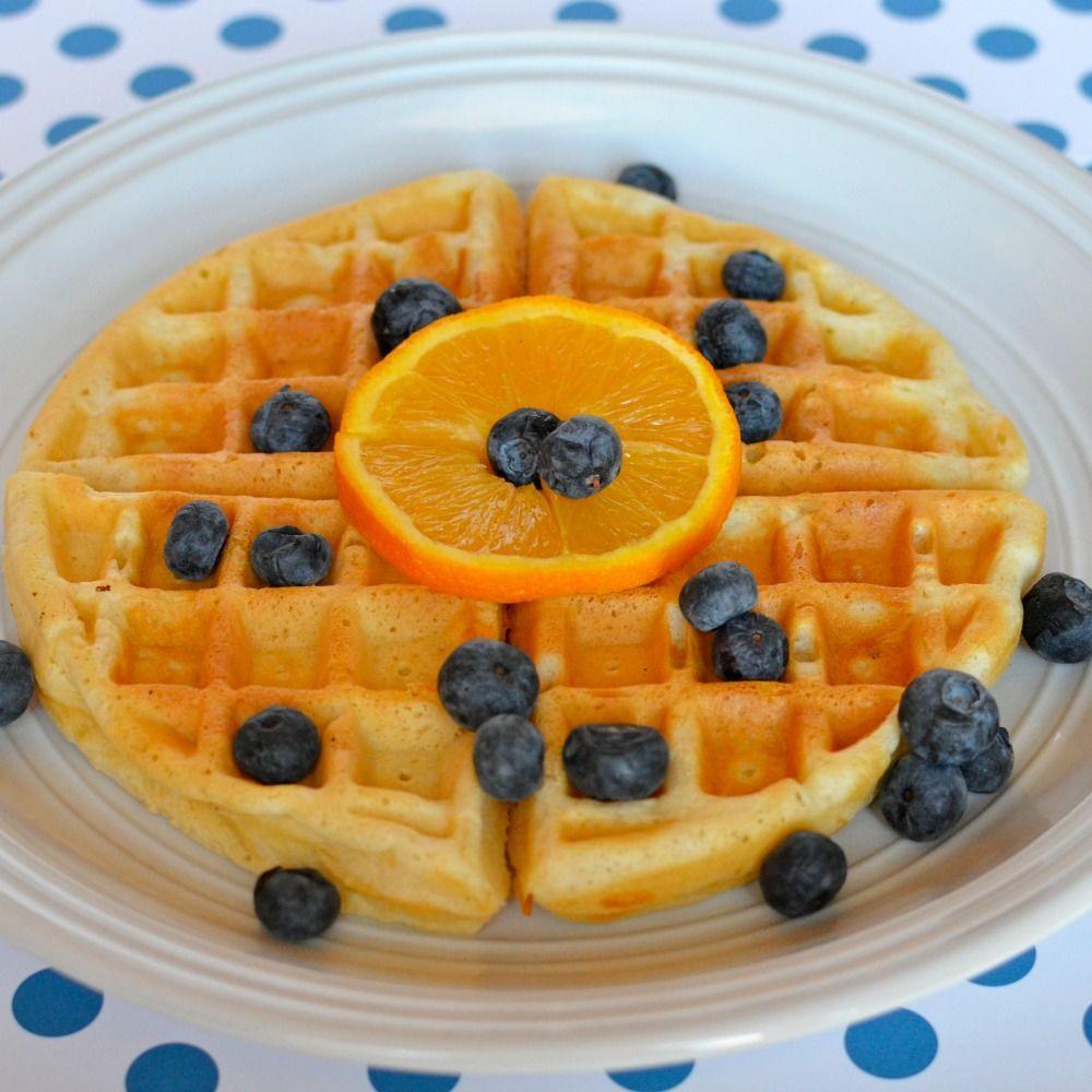Easy Low Cholesterol Recipes  Easy low fat waffles recipe All recipes UK