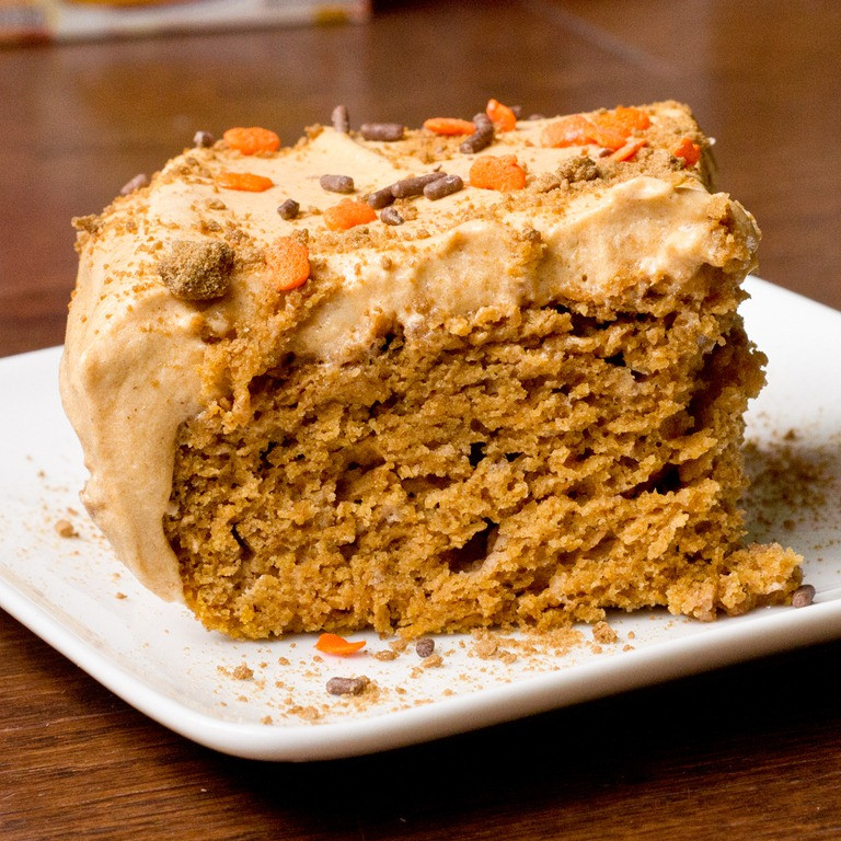 Easy Low Cholesterol Recipes  Easy Low Fat Pumpkin Sheet Cake