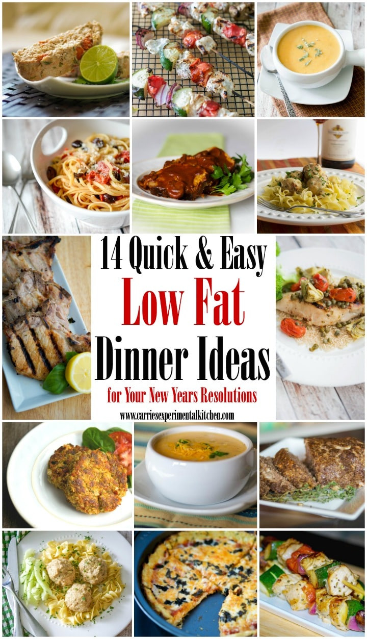 Easy Low Cholesterol Recipes  14 Quick & Easy Low Fat Dinner Ideas