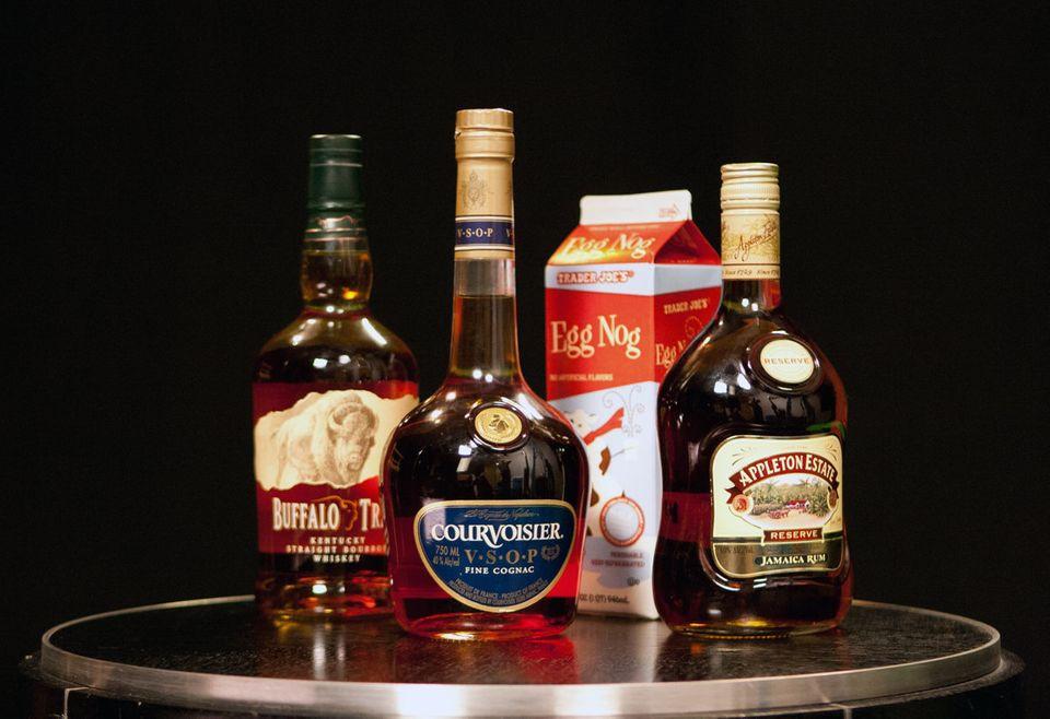 Eggnog Alcoholic Drinks  Eggnog Taste Test The Best Liquors For Spiking Your