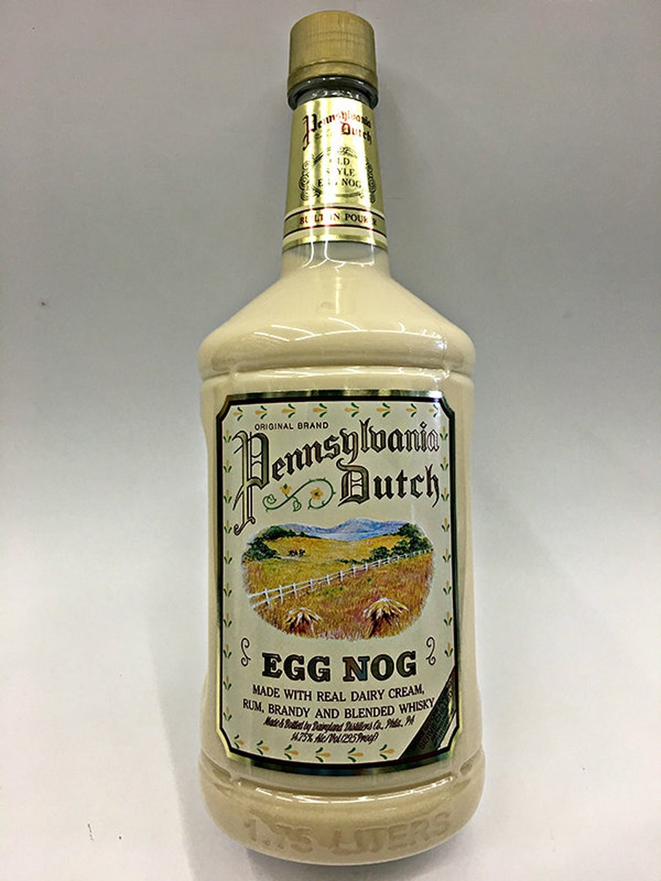 Eggnog Alcoholic Drinks  Pennsylvania Dutch Egg Nog 1 75 Liter