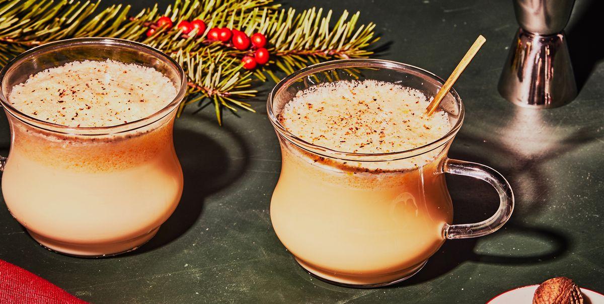 Eggnog Alcoholic Drinks  Best Eggnog Recipe How to Make Fresh Alcoholic Eggnog