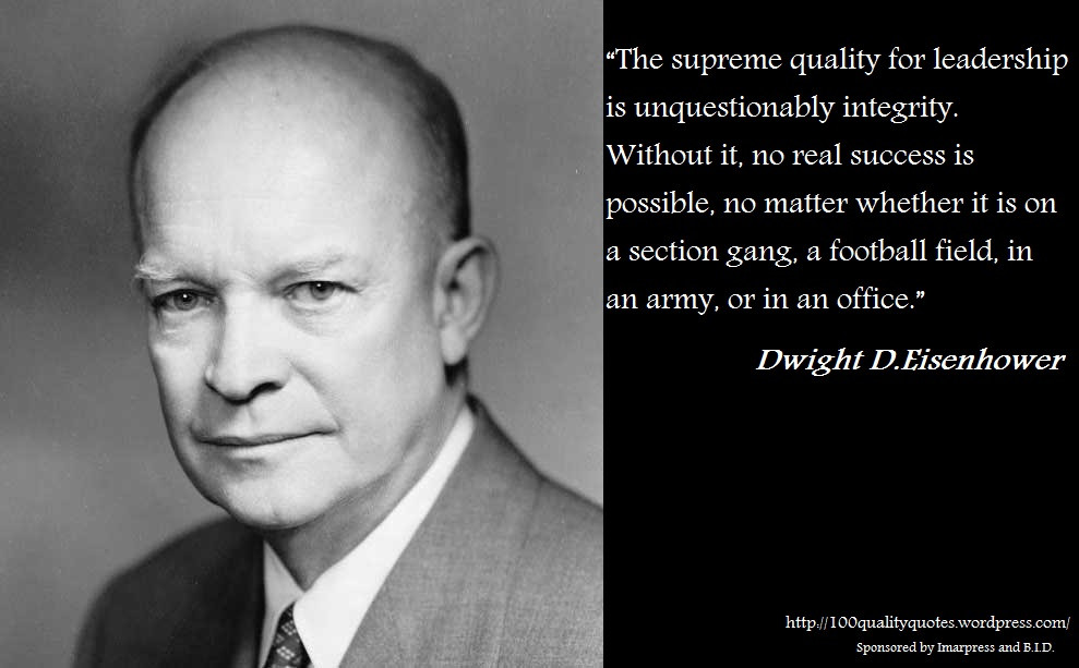 Eisenhower Leadership Quote  Quotes about President eisenhower 64 quotes