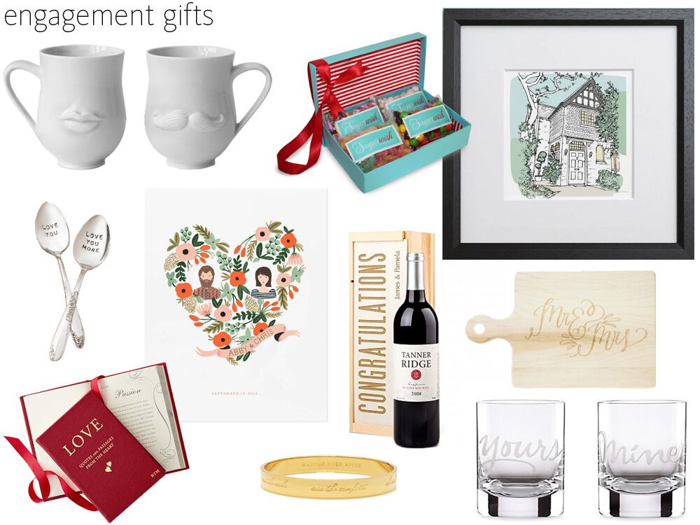 Engagement Gift Ideas For Couple  57 Engagement Gift Ideas