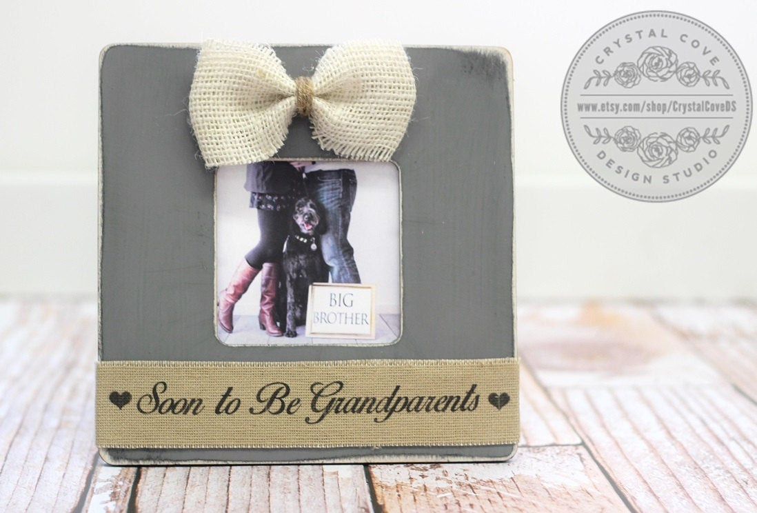 Expecting A Baby Gift  Baby Gift Pregnancy Expecting Announcement for Grandparents