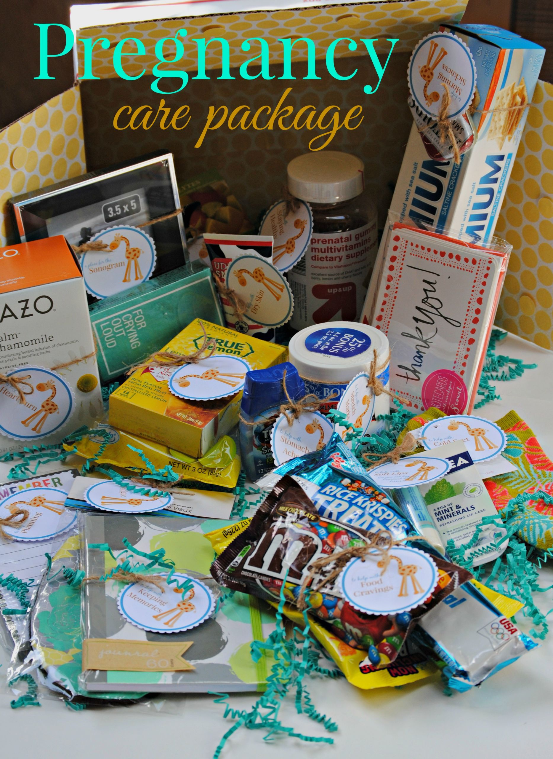 Expecting A Baby Gift  The Pregnancy Care Package