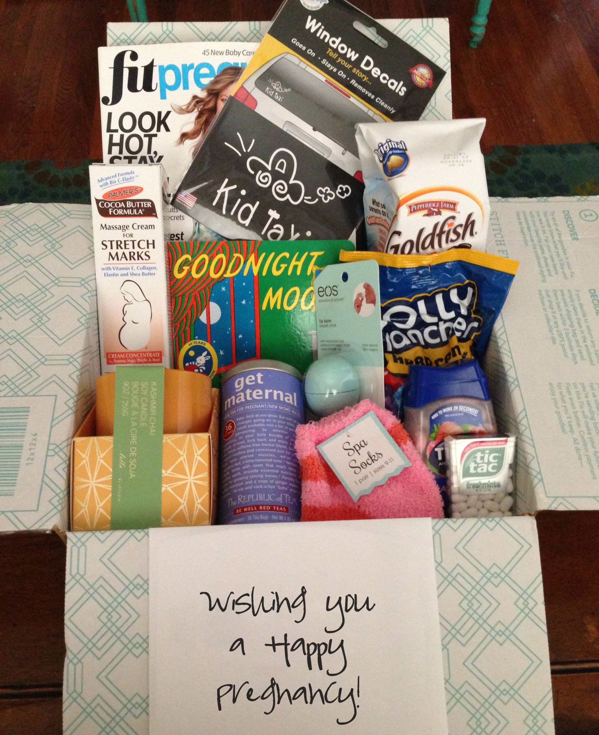Expecting A Baby Gift  t guide pregnancy care package – Lock in Life