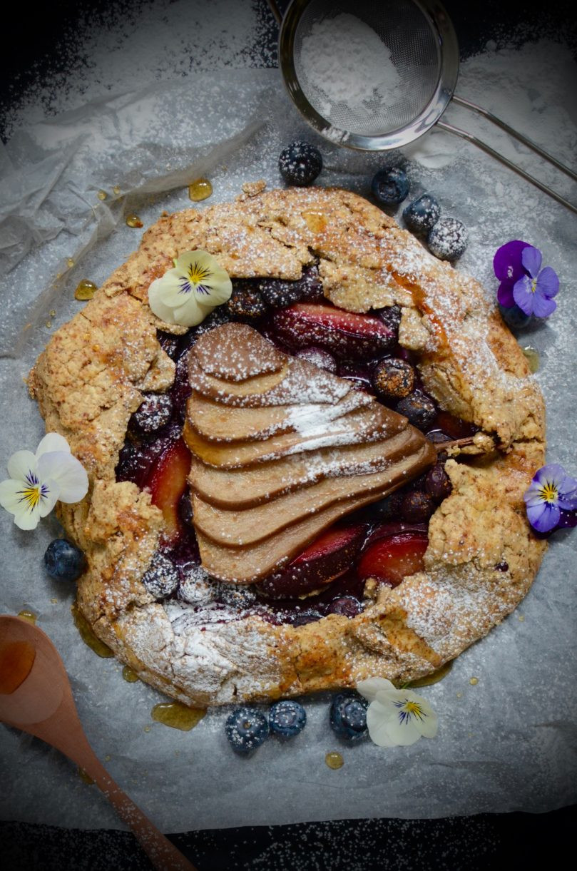 Fall Fruit Desserts  Rustic Fall Fruit Galette – Eighty 20 Nutrition