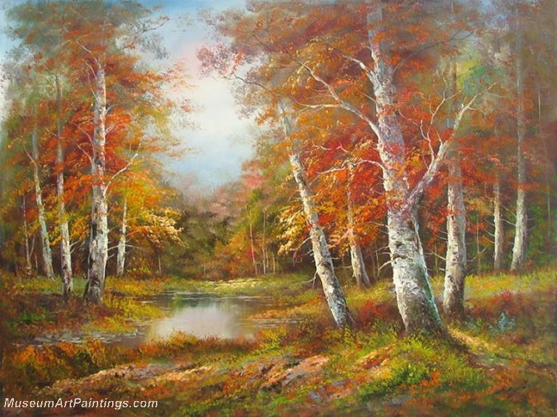 Fall Landscape Painting  Autumn Landscape Paintings 014