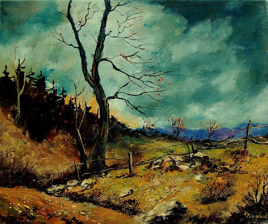 Fall Landscape Painting  Fall Landscape 56 Painting by Pol Ledent