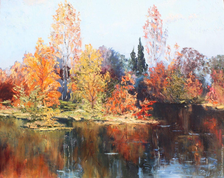 Fall Landscape Painting  Oil painting landscape Autumn Oil on Canvas Impressionism