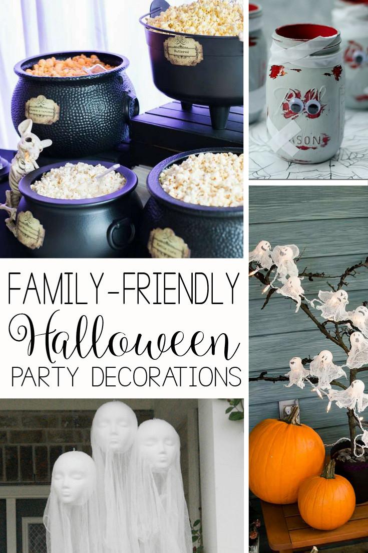 Family Halloween Party Ideas  55 Family Friendly Halloween Party Ideas