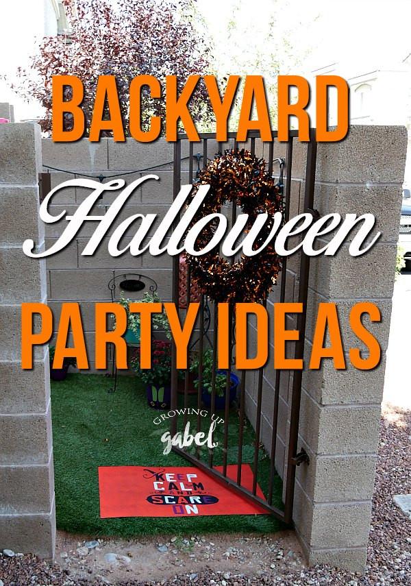 Family Halloween Party Ideas  Backyard Family Halloween Party Ideas