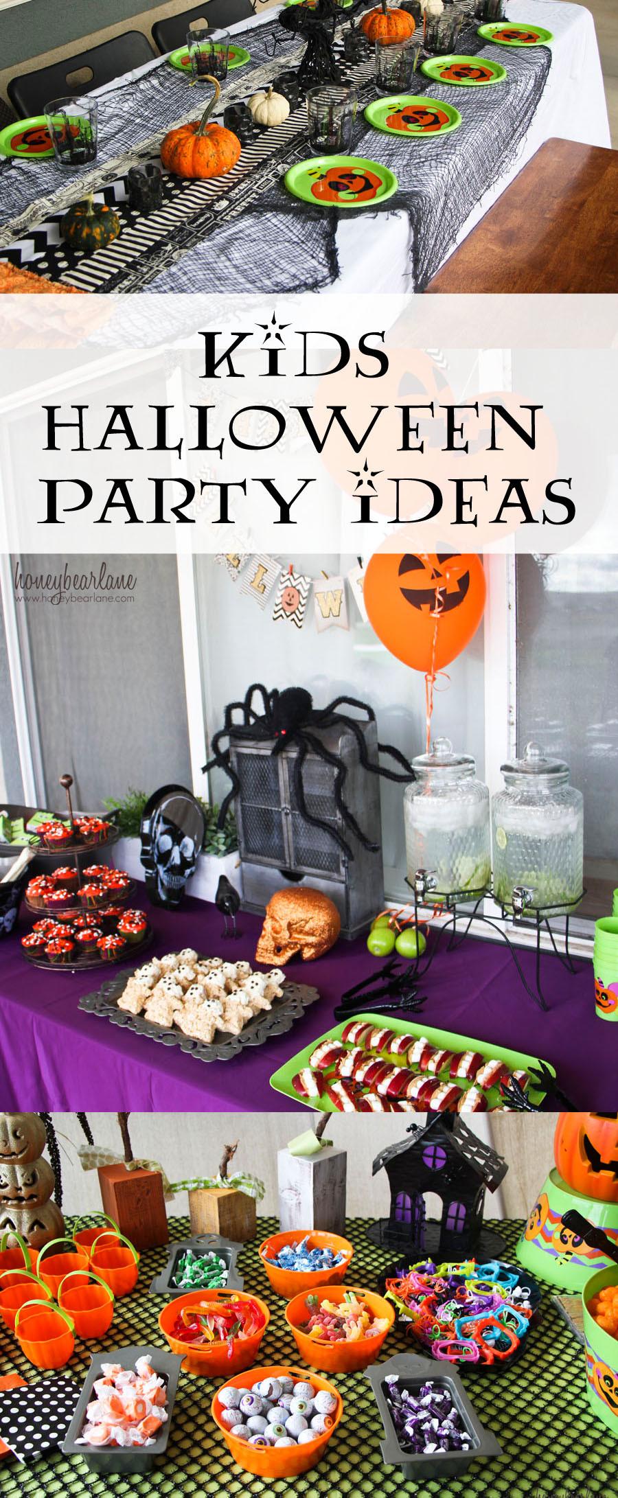 Family Halloween Party Ideas  Kids Halloween Party Ideas Honeybear Lane