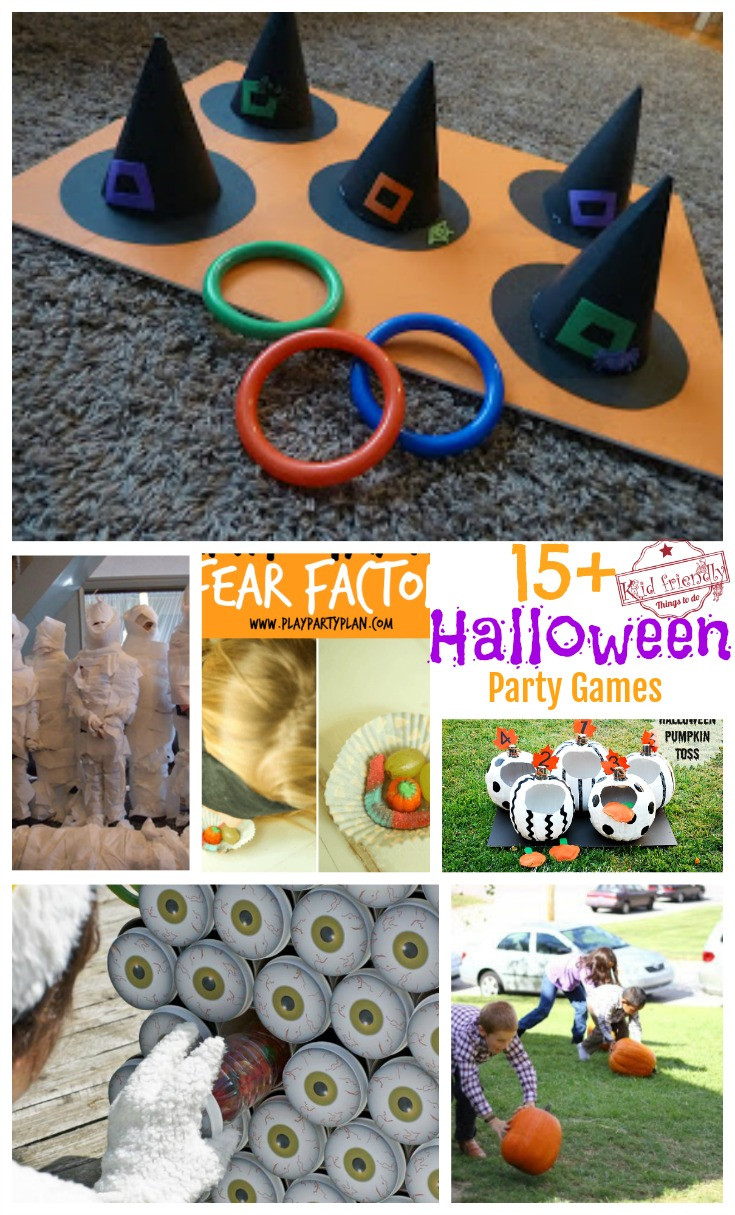Family Halloween Party Ideas  Over 15 Super Fun Halloween Party Game Ideas for Kids and