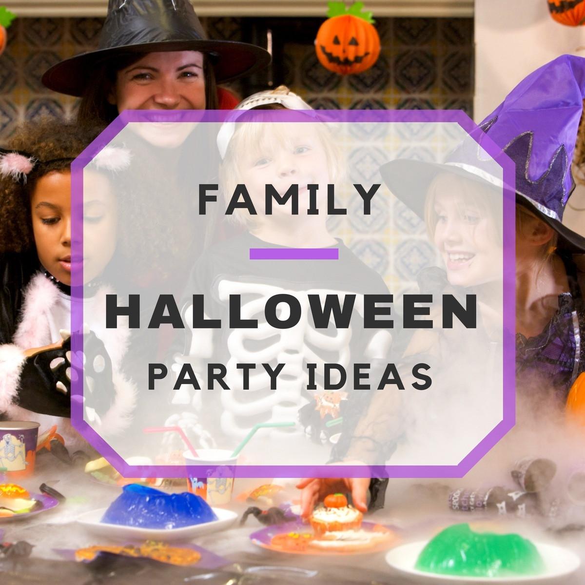 Family Halloween Party Ideas  Spooky Family Halloween Party Ideas
