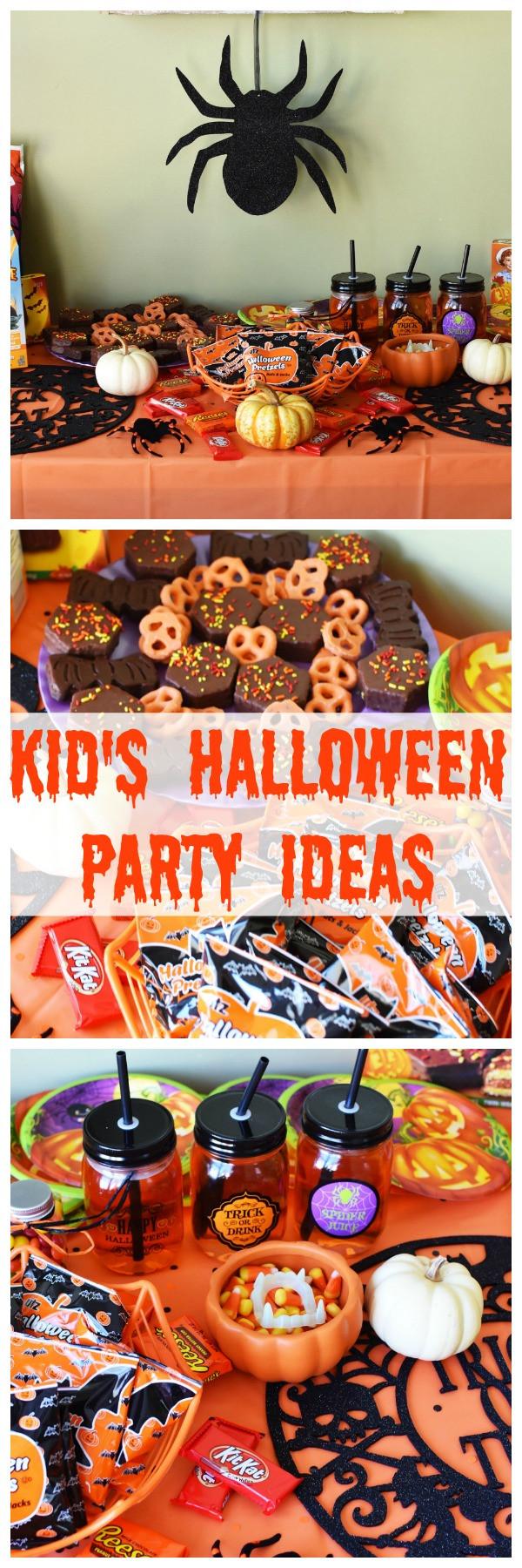 Family Halloween Party Ideas  Kid s Halloween Party Ideas