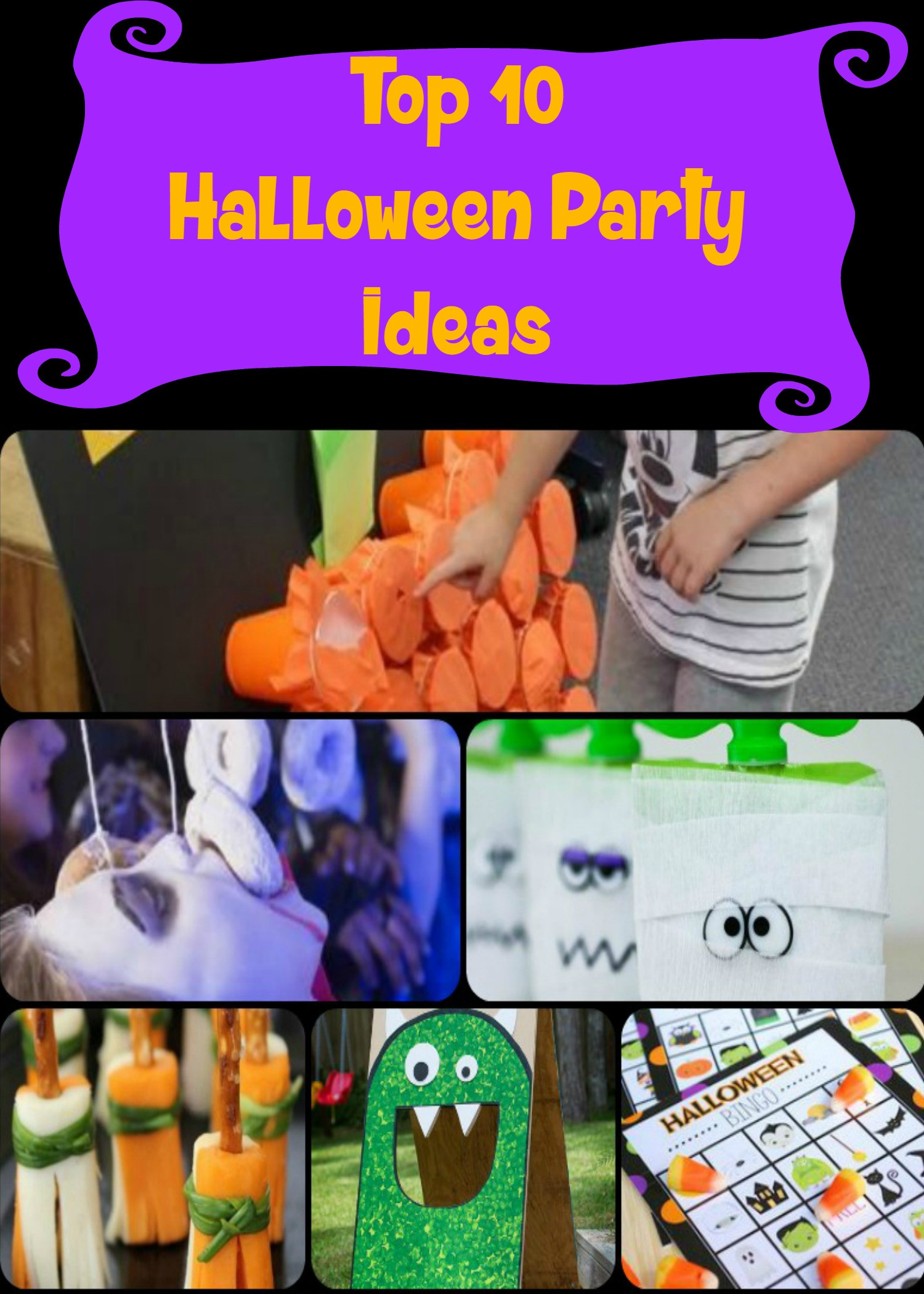 Family Halloween Party Ideas  Top 10 Kids Halloween Party ideas