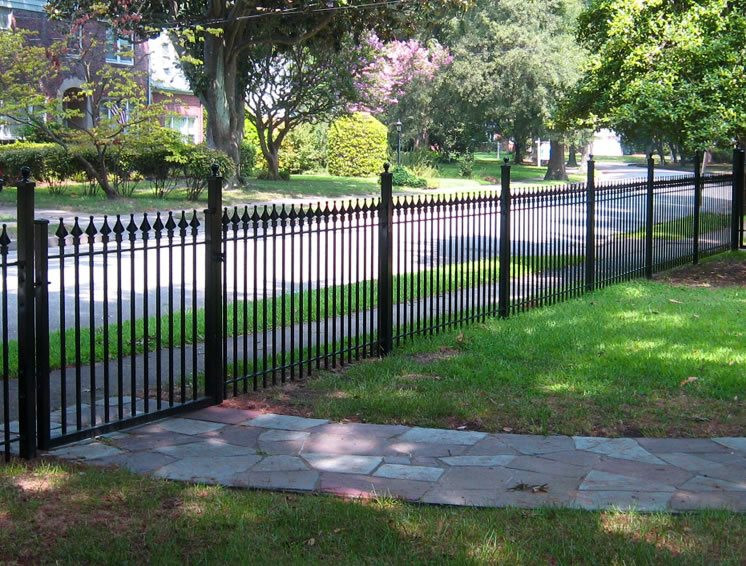 Fence Pictures For Backyard  Front Yard Fence Ideas Landscaping Network