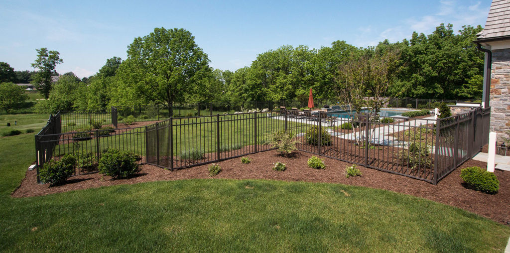 Fence Pictures For Backyard  Backyard Dog Fence Ideas & Designs